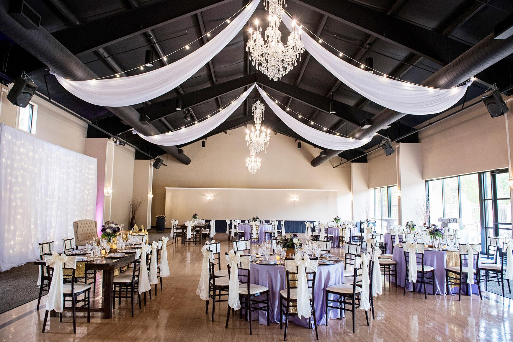 Banquet Room - Black Forest - Colorado Springs, Colorado - El Paso County - Wedgewood Weddings