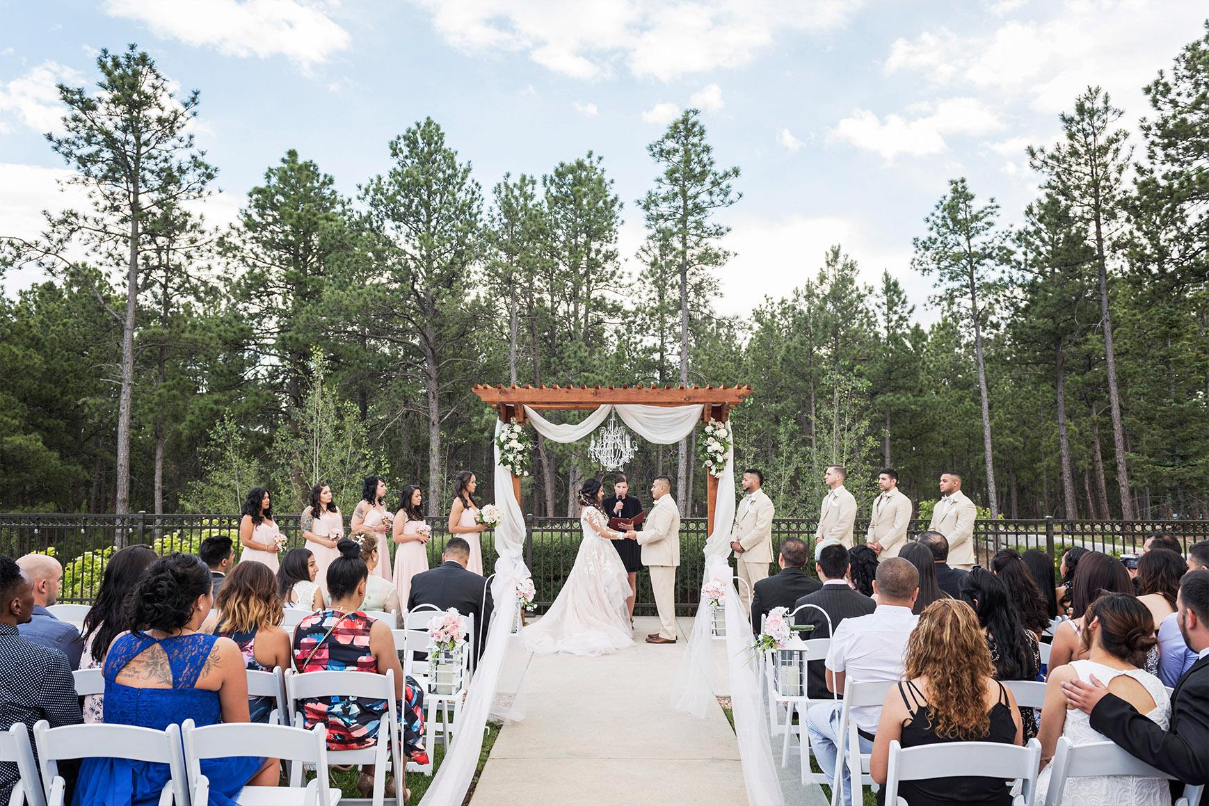 Ceremony - Black Forest - Colorado Springs, Colorado - El Paso County - Wedgewood Weddings
