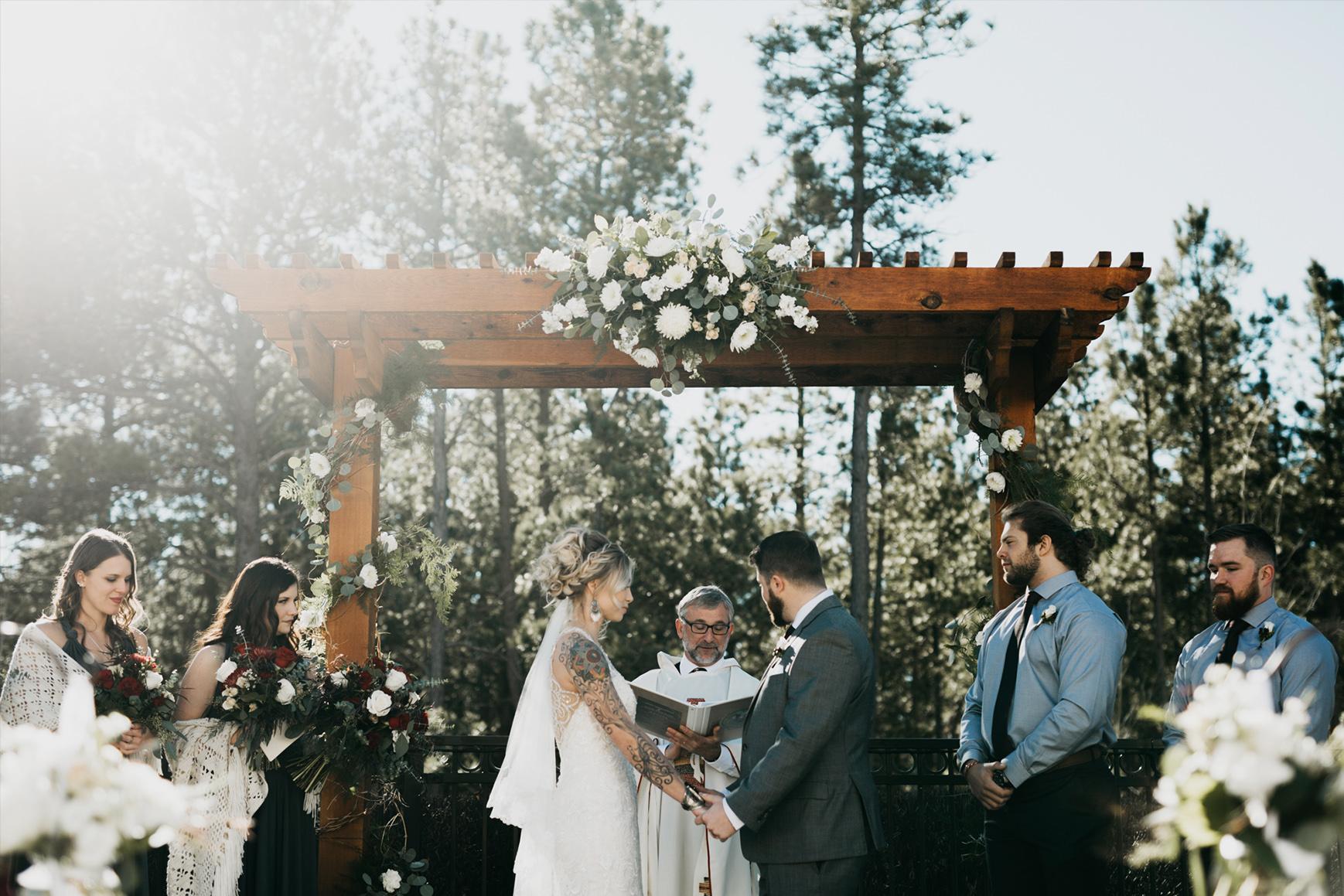 Forest Ceremony Site - Black Forest - Colorado Springs, Colorado - El Paso County - Wedgewood Weddings