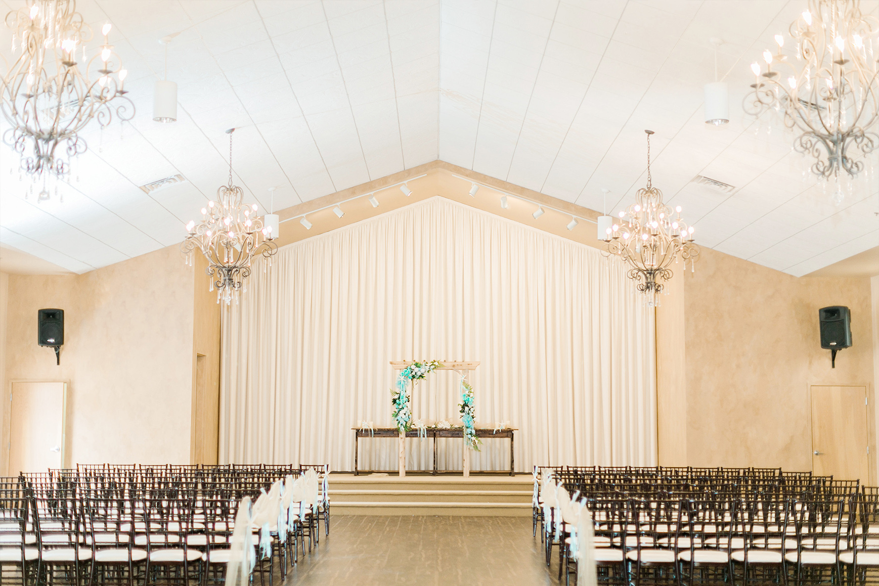 Ceremony Chapel - Black Forest - Colorado Springs, Colorado - El Paso County - Wedgewood Weddings