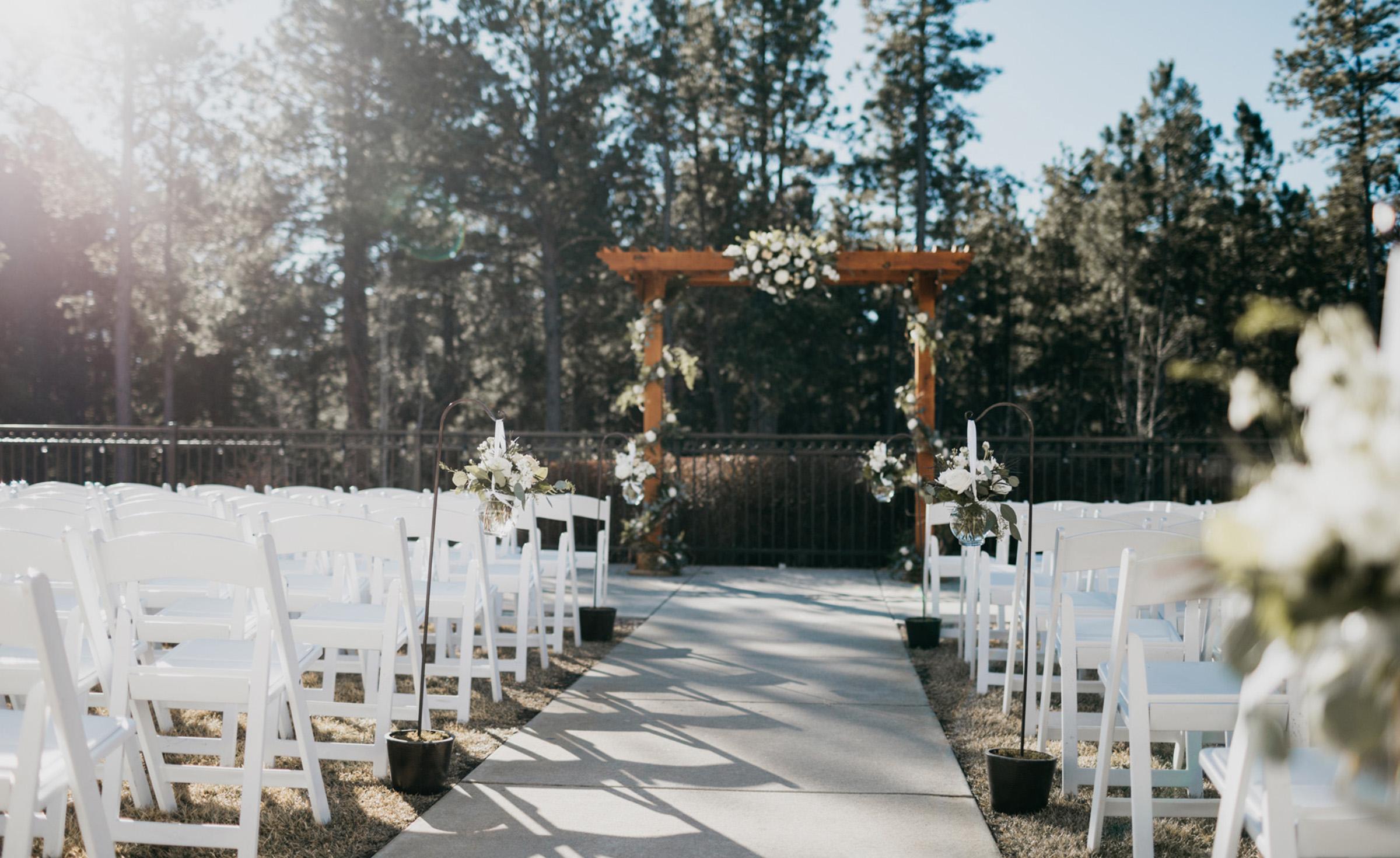 Outdoor Ceremony Site - Black Forest - Colorado Springs, Colorado - El Paso County - Wedgewood Weddings
