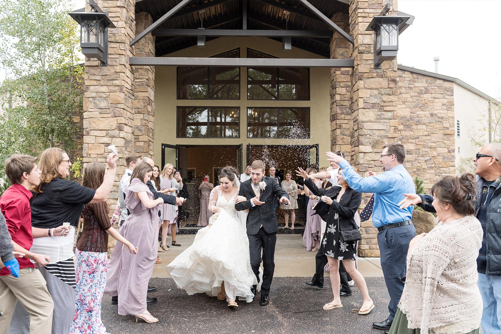Grand Exit - Black Forest - Colorado Springs, Colorado - El Paso County - Wedgewood Weddings