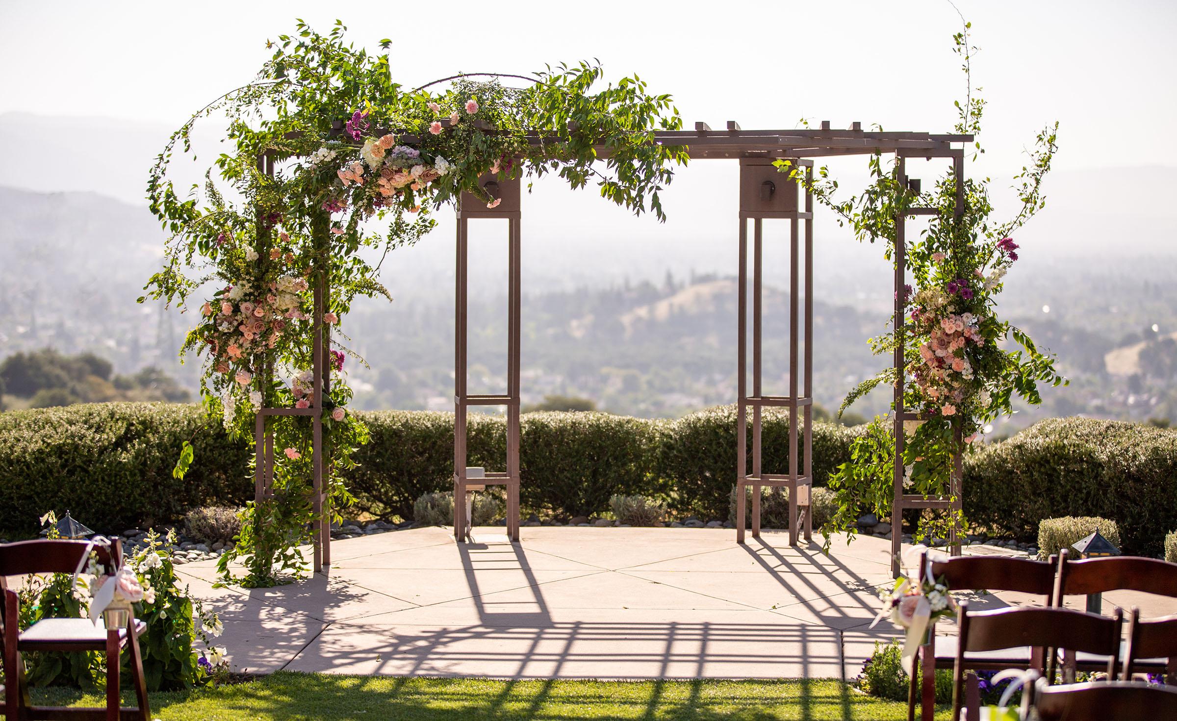 Scenic Ceremony Site - Boulder Ridge - Los Gatos, California - San Jose, California - Santa Clara County - Wedgewood Weddings