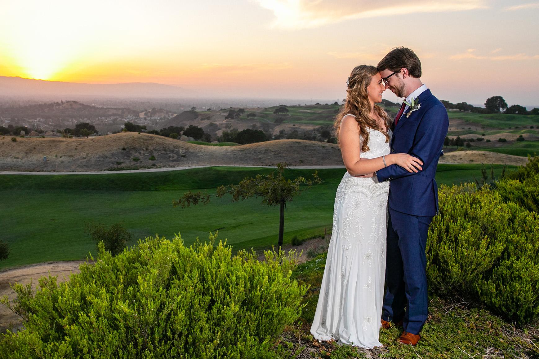Smiling Couple - Boulder Ridge - Los Gatos, California - San Jose, California - Santa Clara County - Wedgewood Weddings