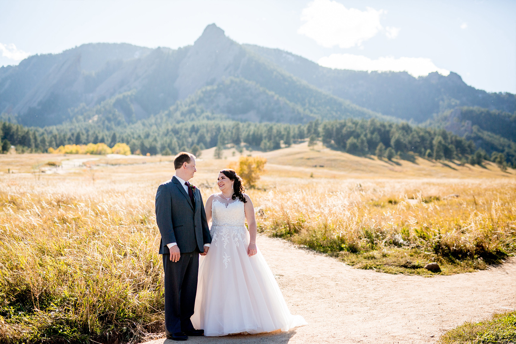 Mountain Scenery  - Boulder Creek - Boulder, Colorado - Boulder County - Wedgewood Weddings