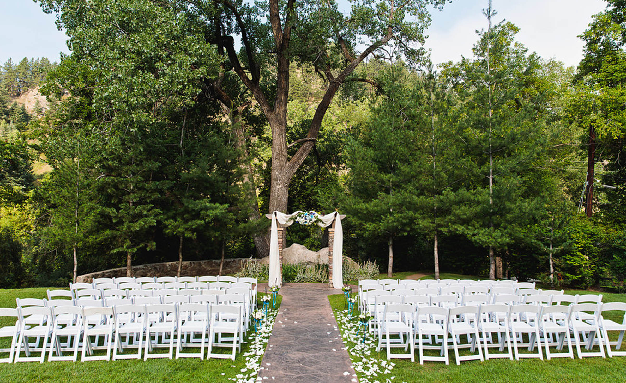 Ceremony Site - Boulder Creek - Boulder, Colorado - Boulder County - Wedgewood Weddings