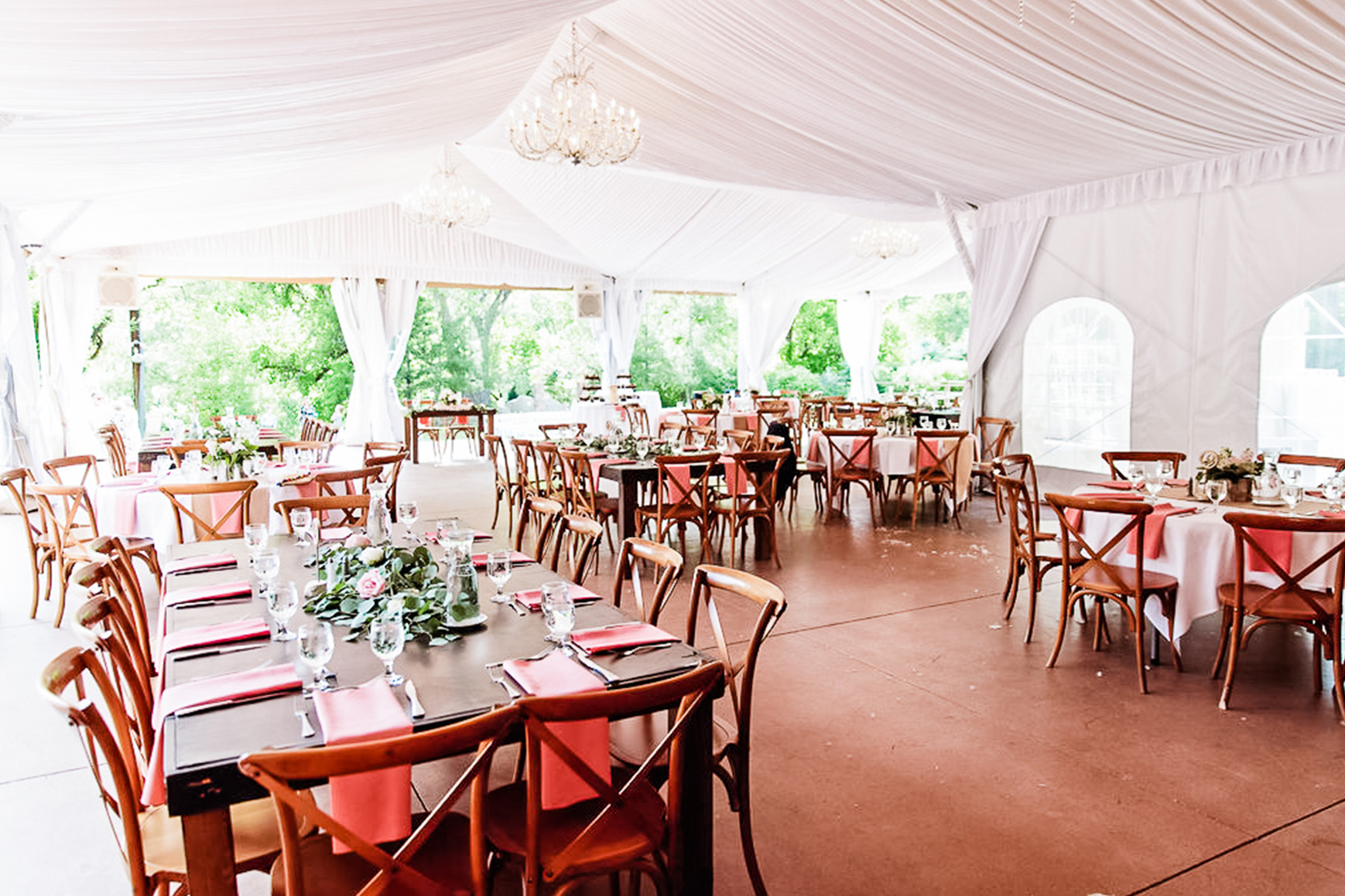 Tented Pavilion - Boulder Creek - Boulder, Colorado - Boulder County - Wedgewood Weddings
