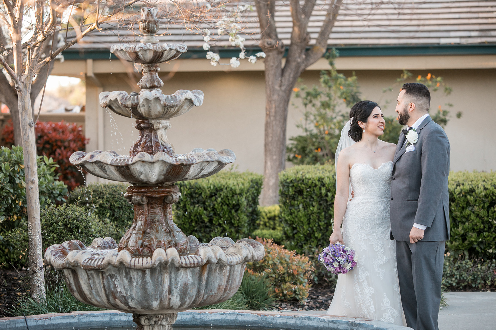 Newlyweds - Brentwood - Brentwood, California - Contra Costa County - Wedgewood Weddings