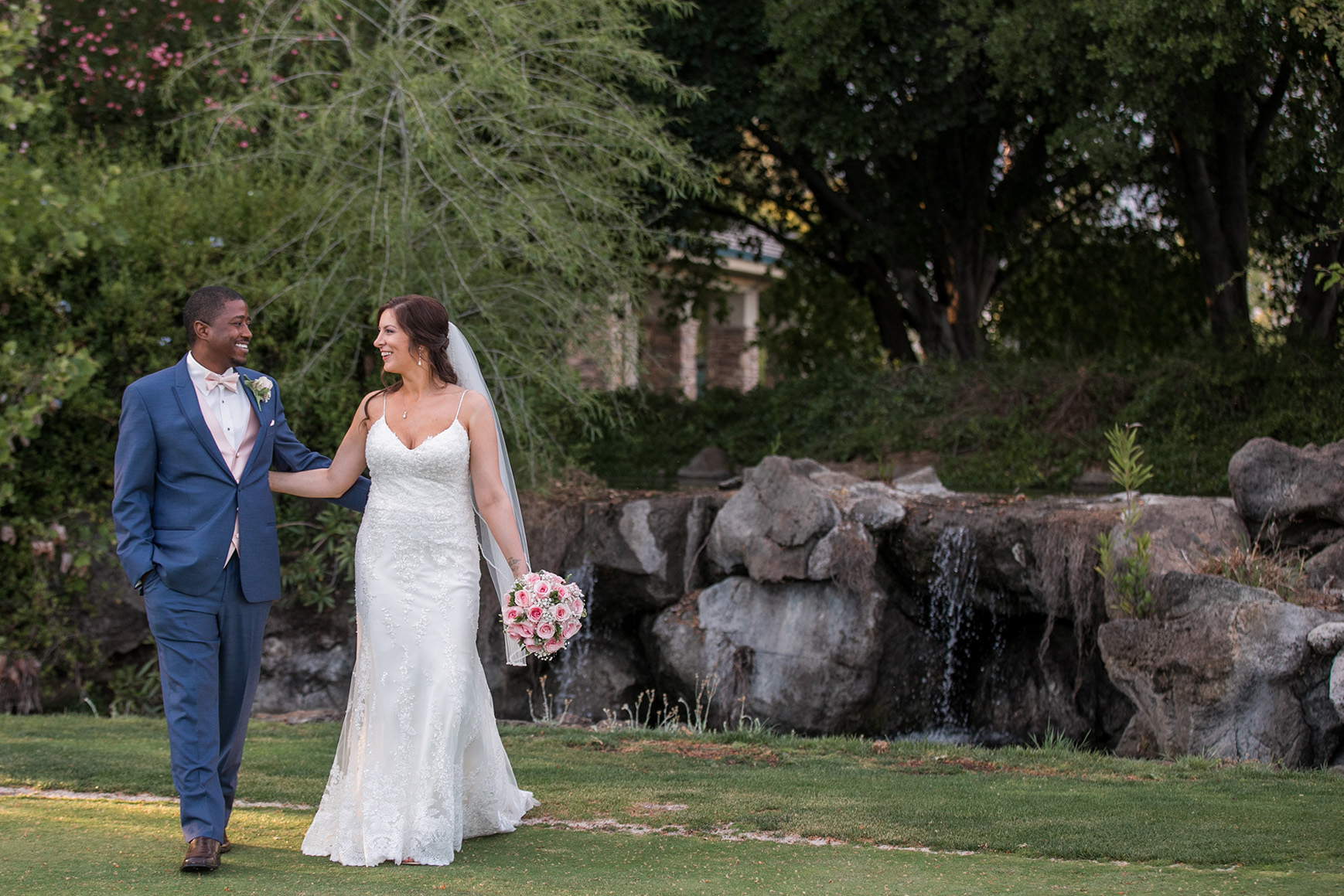 Happy Couple - Brentwood - Brentwood, California - Contra Costa County - Wedgewood Weddings