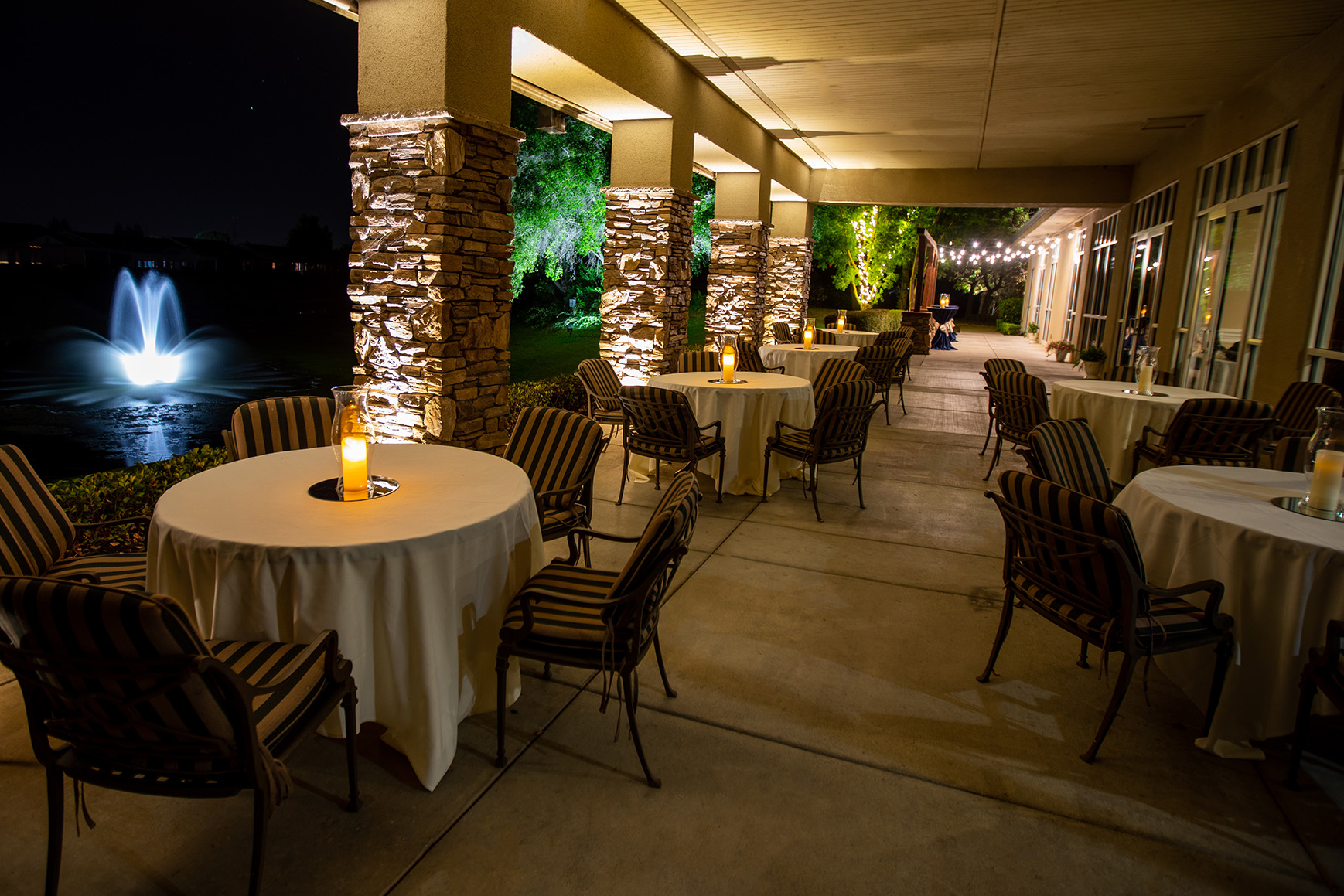 Evening Cocktail Hour - Brentwood - Brentwood, California - Contra Costa County - Wedgewood Weddings