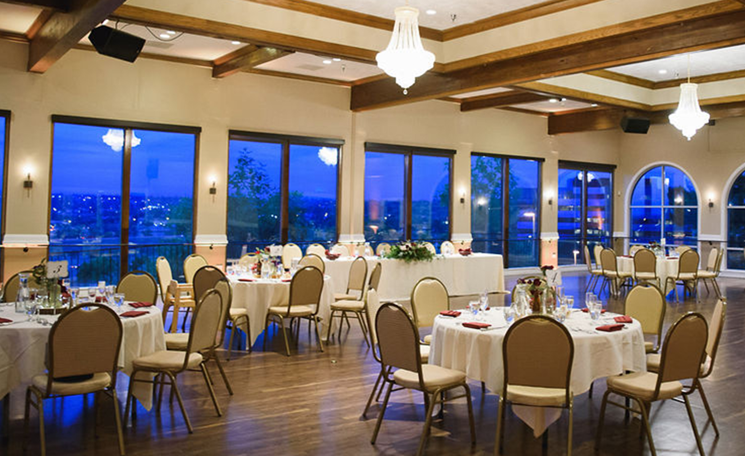 Ballroom with a view - Brittany Hill - Thornton, Colorado - Adams County - Weld County - Wedgewood Weddings