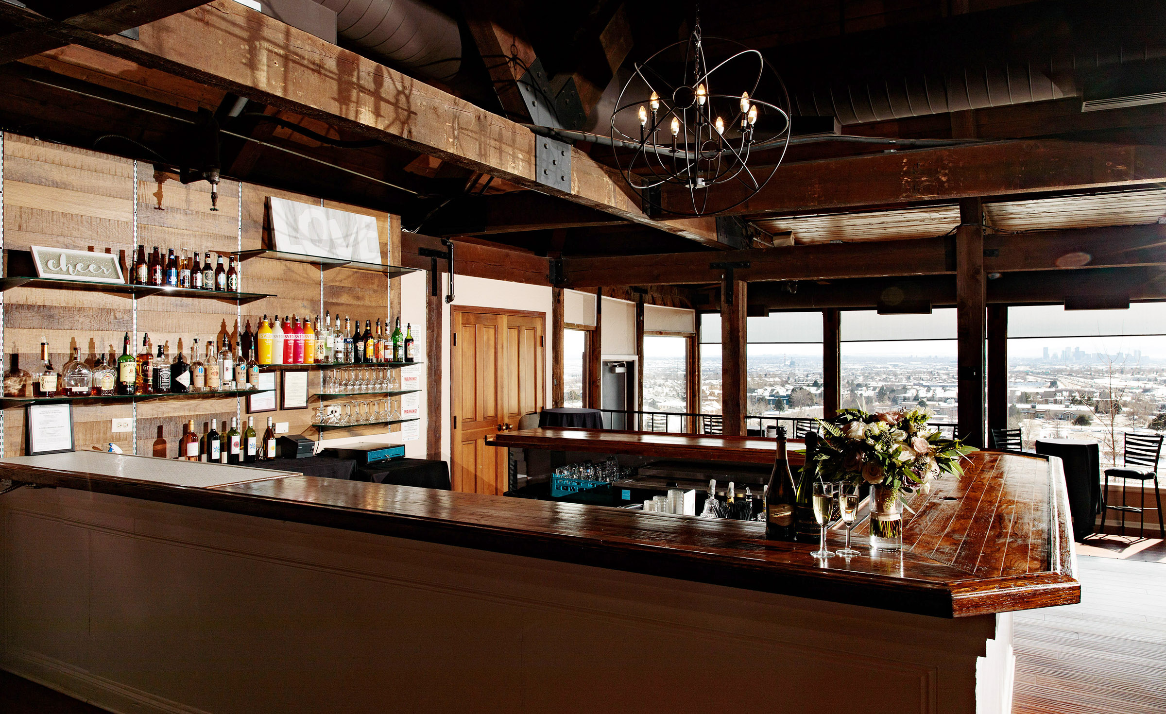 Handsome Built-In Bar - Brittany Hill - Thornton, Colorado - Adams County - Weld County - Wedgewood Weddings