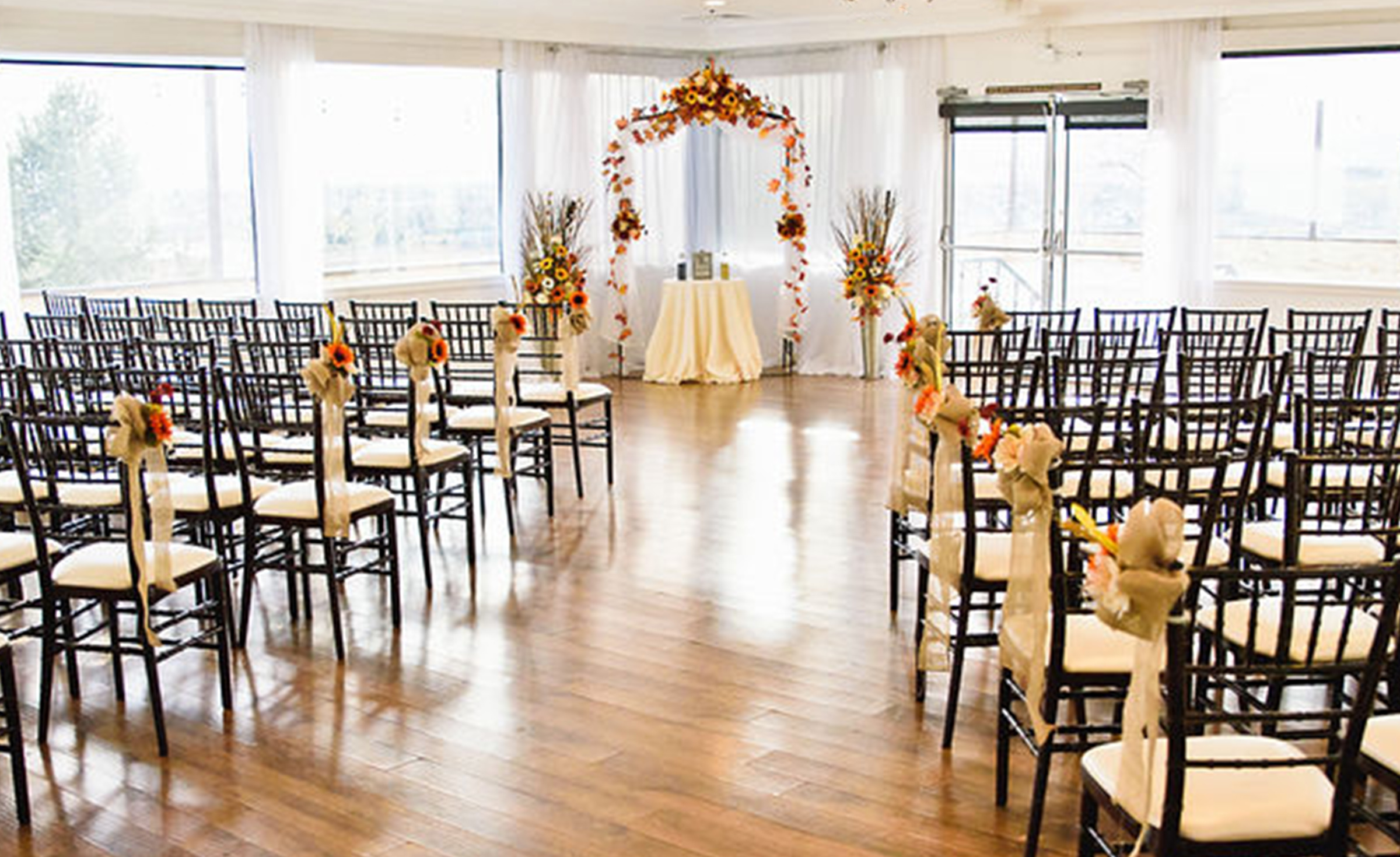 Beautiful indoor ceremony site - Brittany Hill - Thornton, Colorado - Adams County - Weld County - Wedgewood Weddings