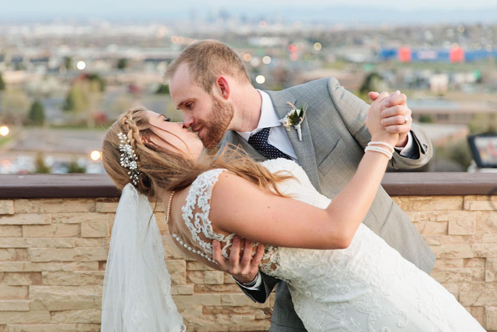 Newlyweds - Brittany Hill - Thornton, Colorado - Adams County - Weld County - Wedgewood Weddings