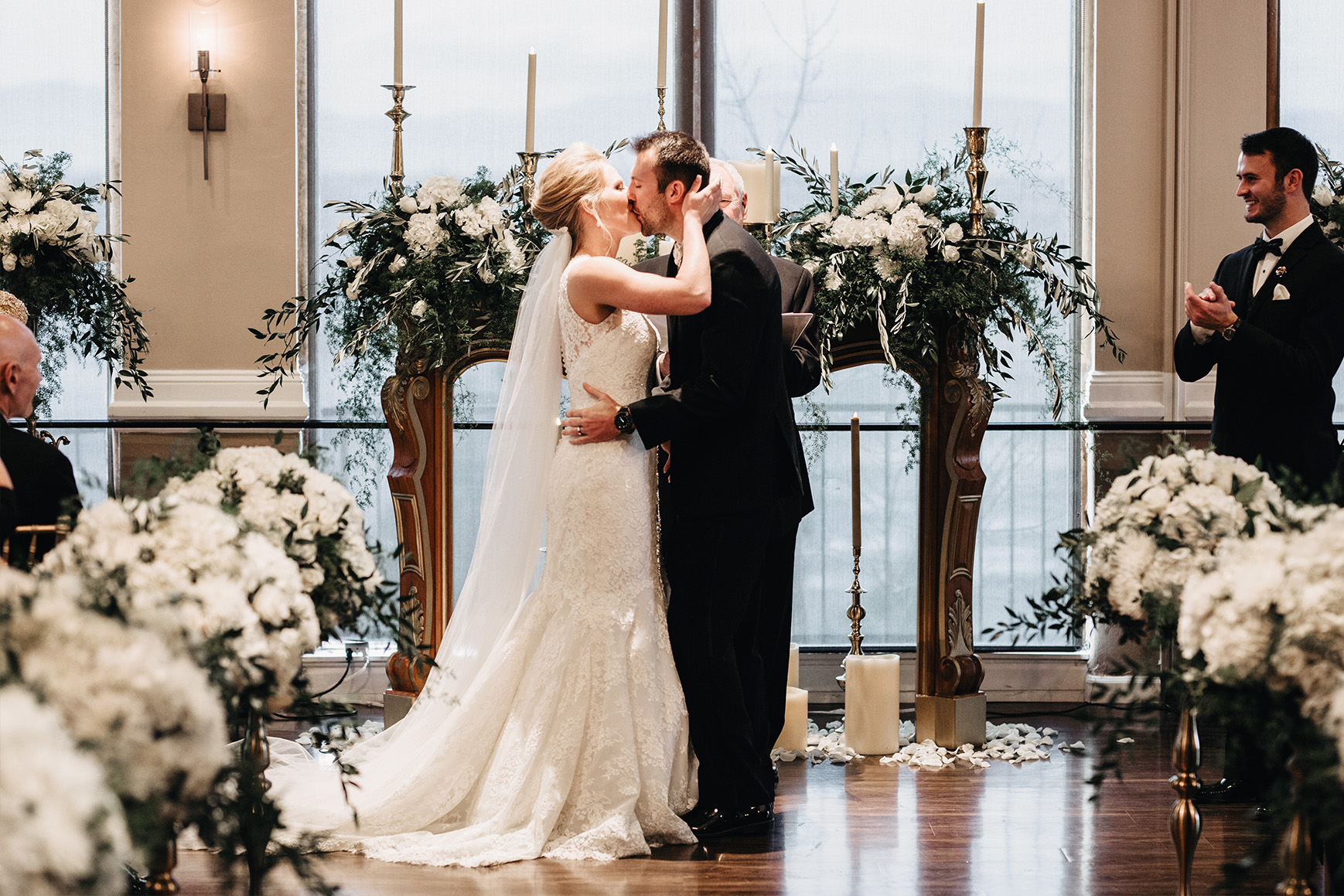 Beautiful Indoor Ceremonies - Brittany Hill - Thornton, Colorado - Adams County - Weld County - Wedgewood Weddings
