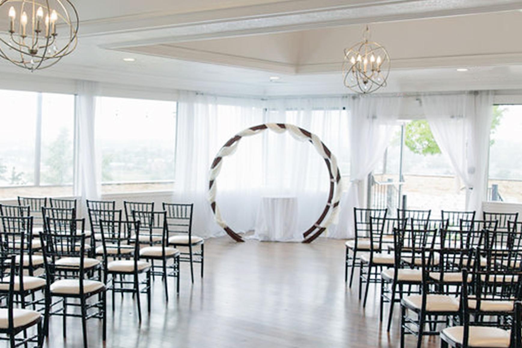 Stunning Indoor Ceremonies - Brittany Hill - Thornton, Colorado - Adams County - Weld County - Wedgewood Weddings