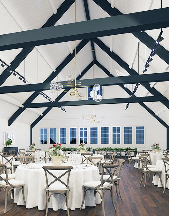 Reception Room Rendering - Carlsbad Windmill - Carlsbad, California - San Diego County - Wedgewood Weddings