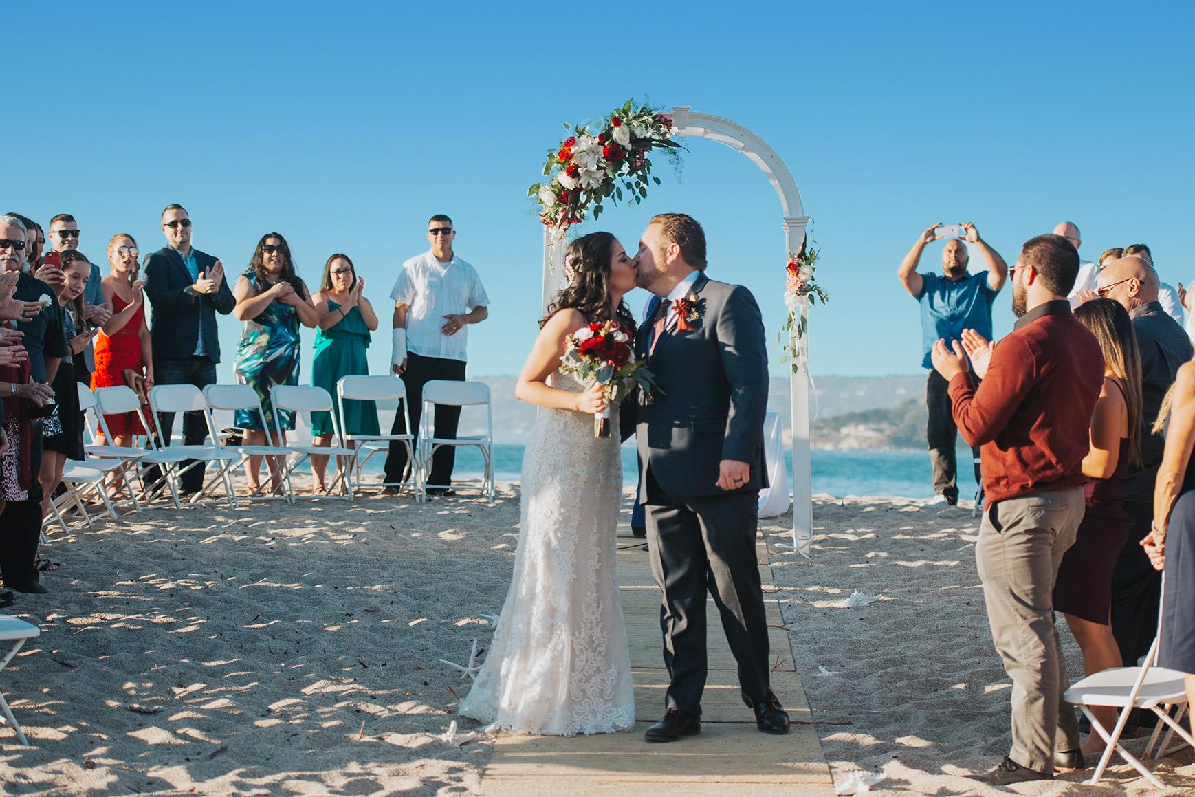 Beach Ceremonies - Carmel - Carmel, California - Monterey County - Wedgewood Weddings