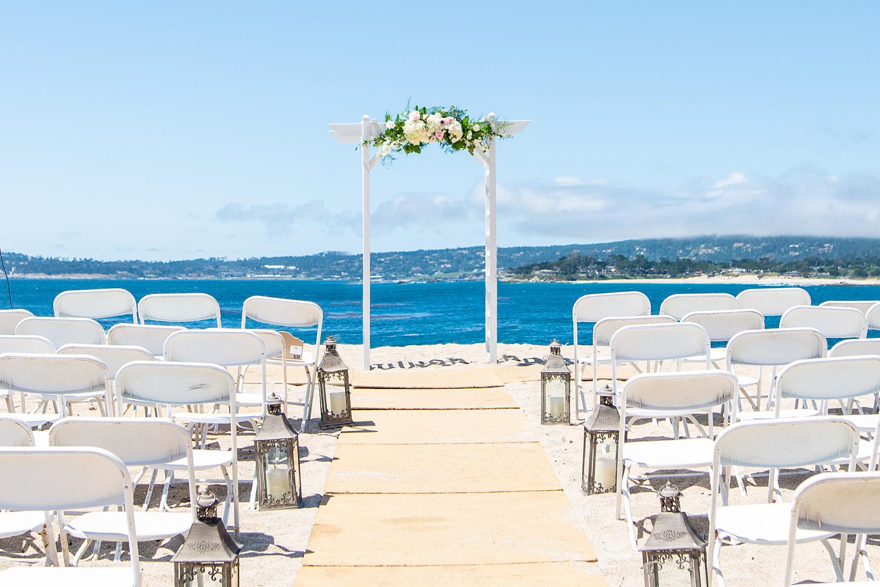 Beach Ceremony - Carmel - Carmel, California - Monterey County - Wedgewood Weddings