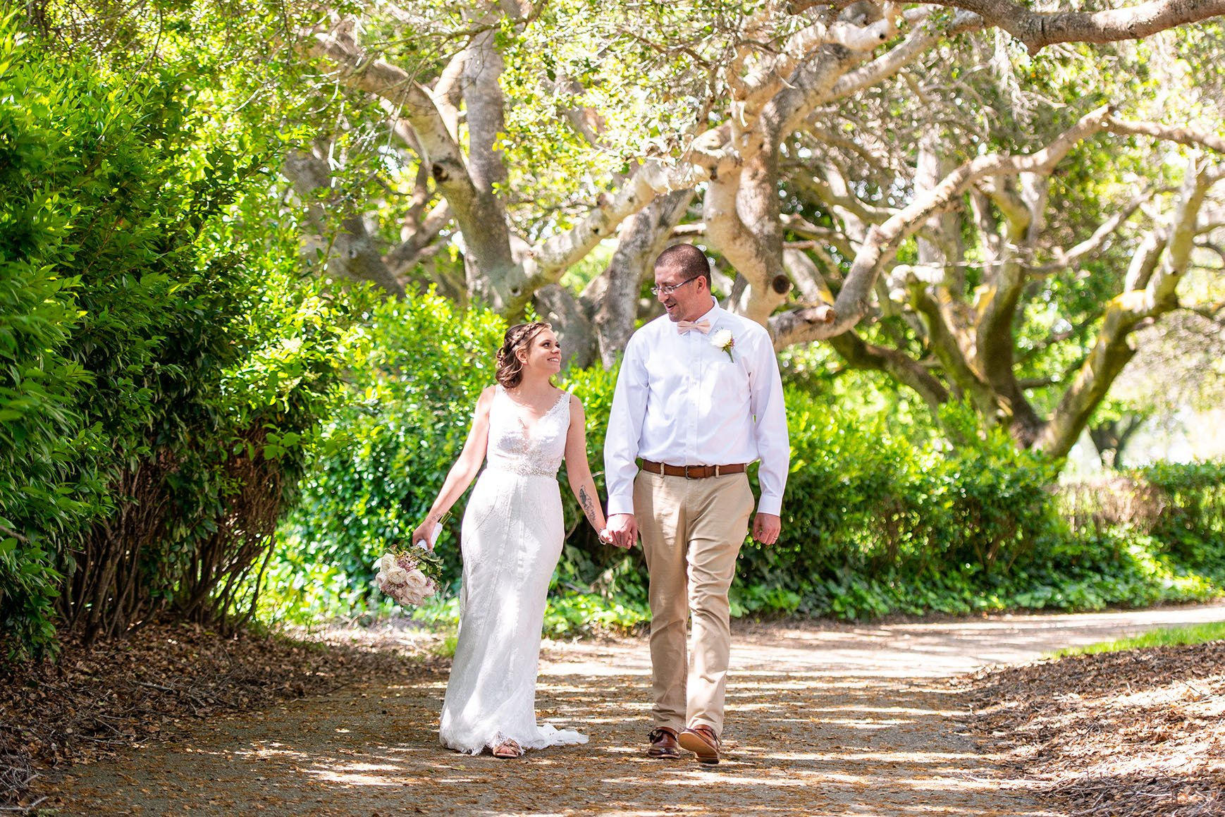 Beautiful photo opportunities on the nature preserve - Carmel - Carmel, California - Monterey County - Wedgewood Weddings