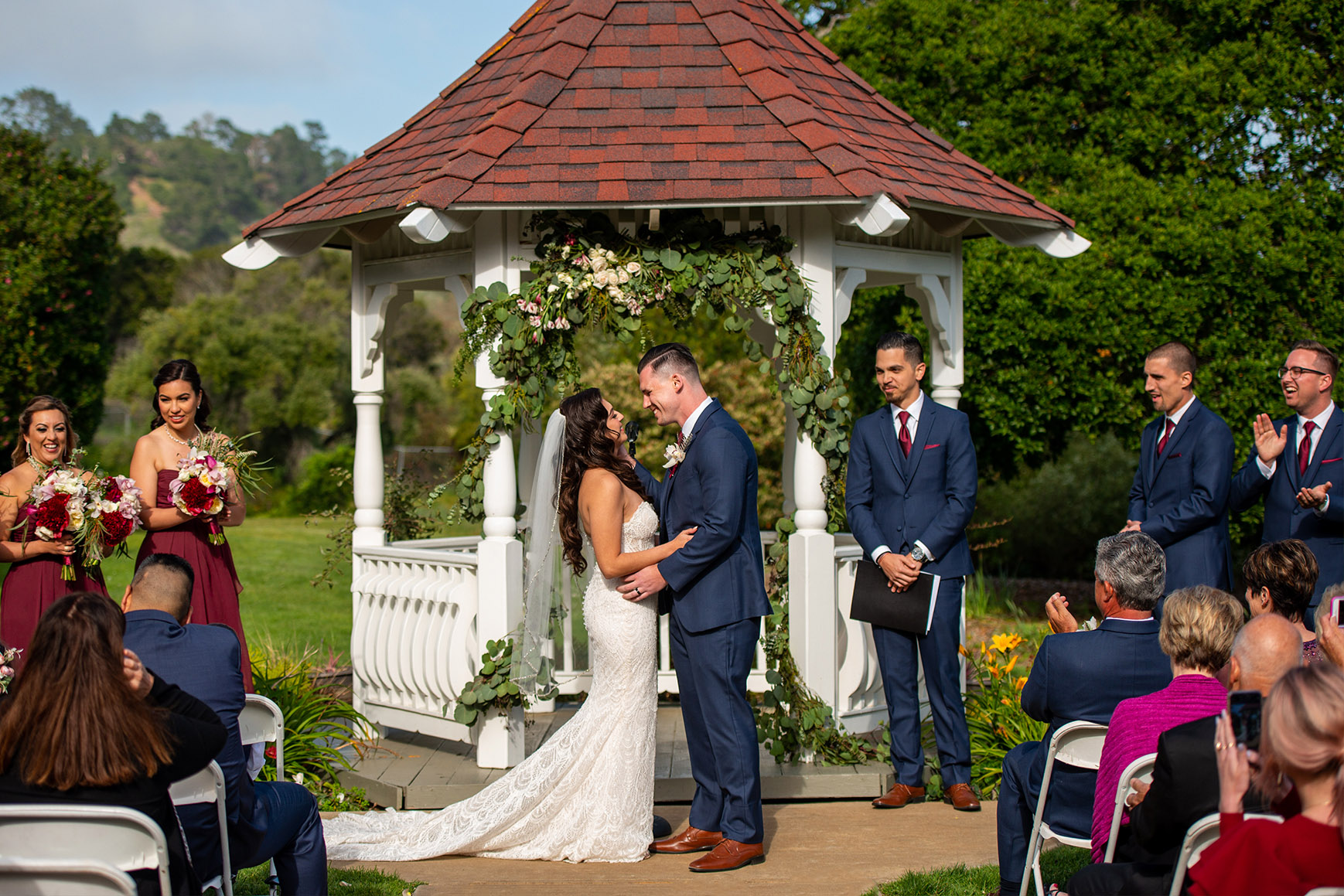Garden Ceremonies - Carmel - Carmel, California - Monterey County - Wedgewood Weddings