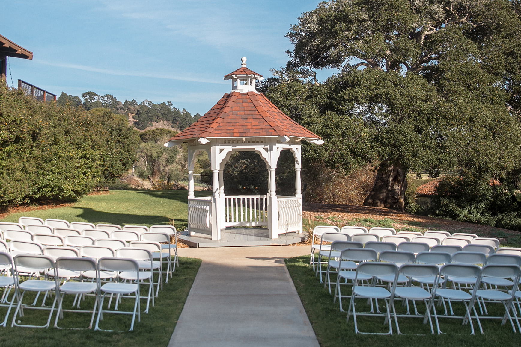 Garden Ceremony Site - Carmel - Carmel, California - Monterey County - Wedgewood Weddings