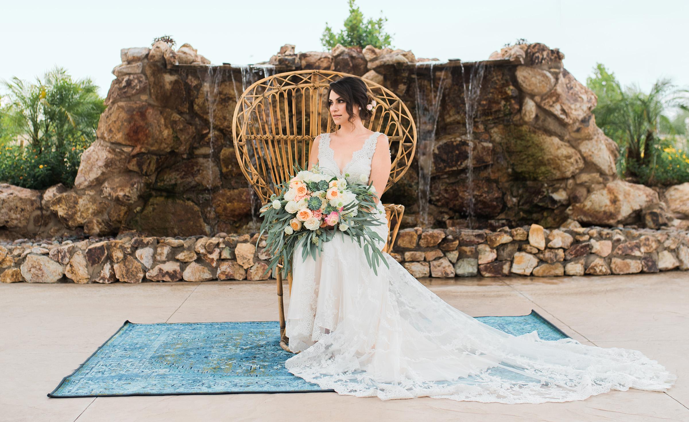 Boho Wedding - Colby Falls - Gilbert, Arizona - Maricopa County - Wedgewood Weddings