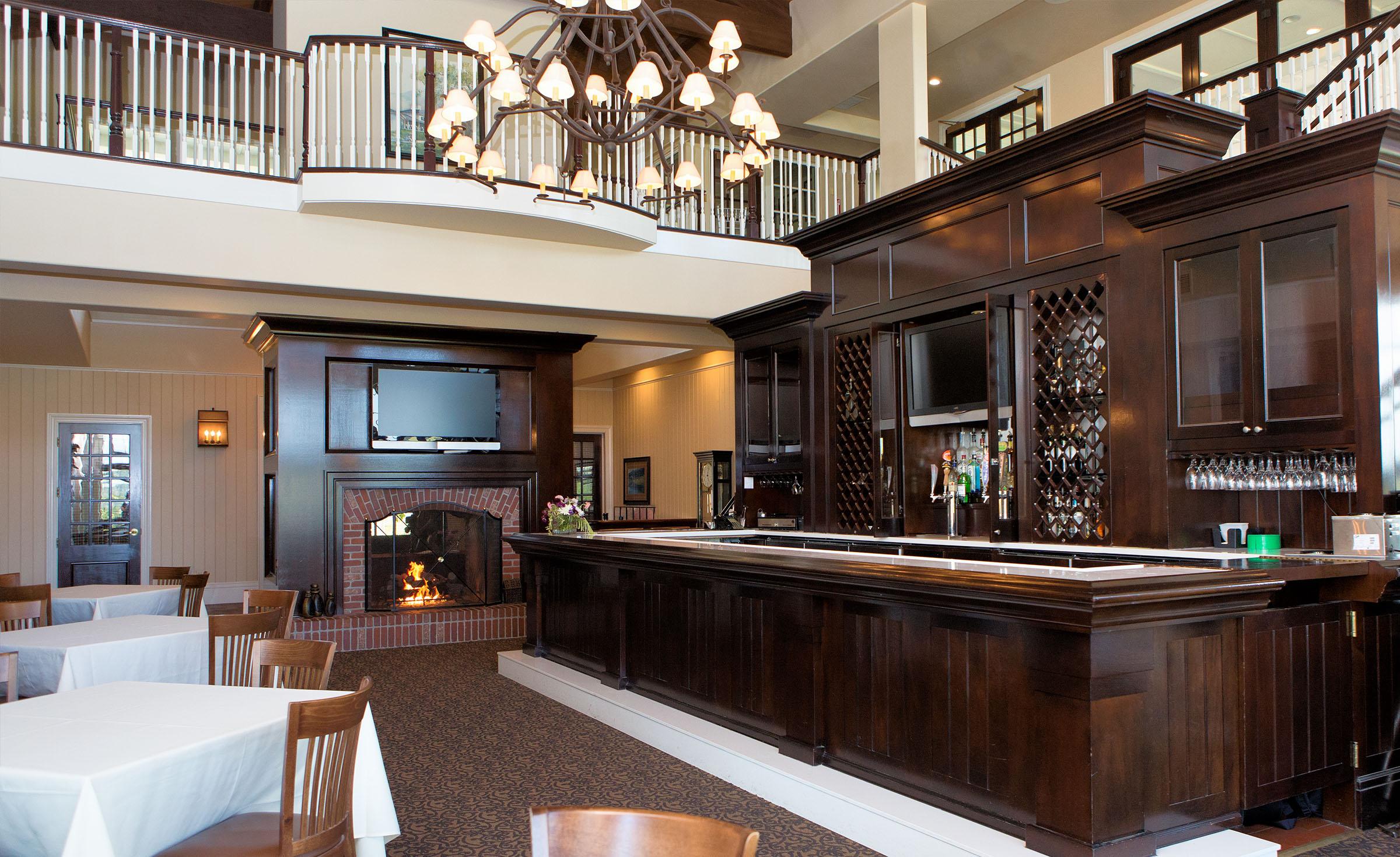 A grand bar - Eagle Ridge - Gilroy, California - Santa Clara County - Wedgewood Weddings