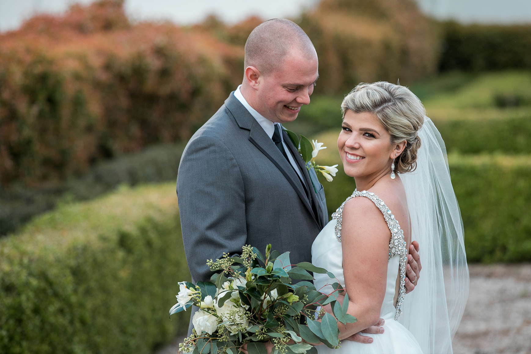 Smiling Couple - Eagle Ridge - Gilroy, California - Santa Clara County - Wedgewood Weddings