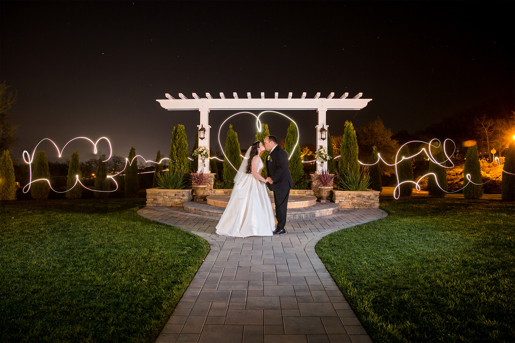 Nighttime couple - Eagle Ridge - Gilroy, California - Santa Clara County - Wedgewood Weddings
