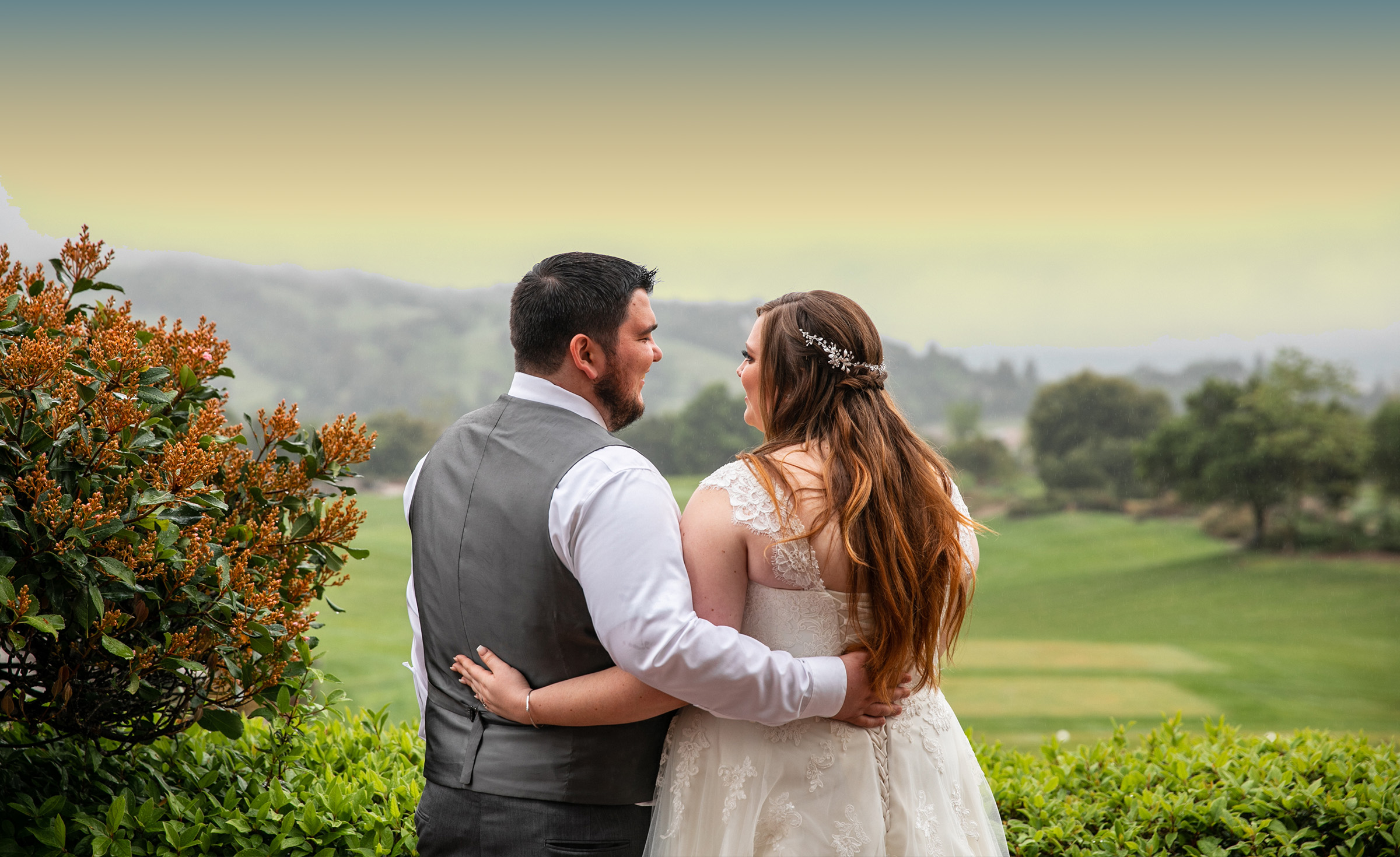 Beautiful grounds for breathtaking photos - Eagle Ridge - Gilroy, California - Santa Clara County - Wedgewood Weddings