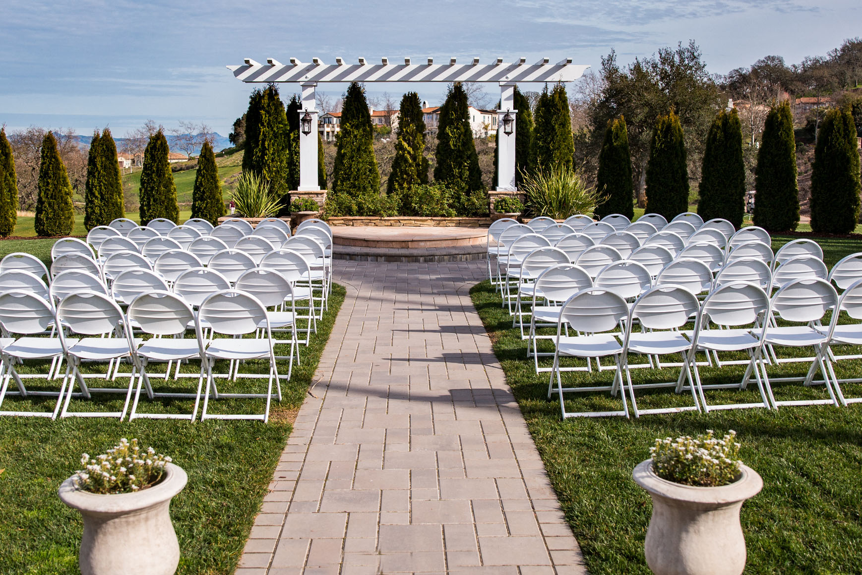 Stunning Ceremony - Eagle Ridge - Gilroy, California - Santa Clara County - Wedgewood Weddings Site