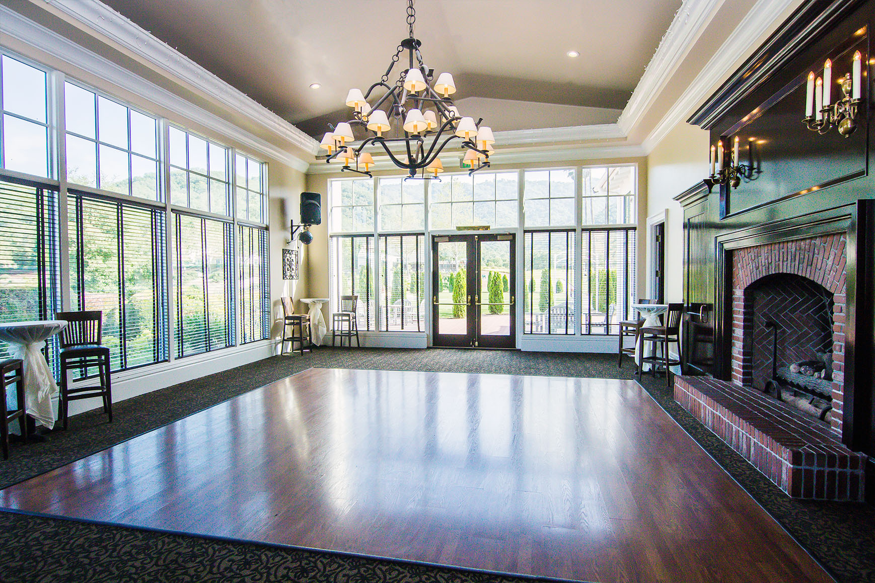 Dance Floor - Eagle Ridge - Gilroy, California - Santa Clara County - Wedgewood Weddings