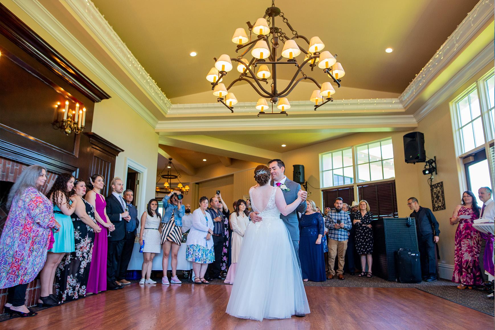 First Dance- Eagle Ridge - Gilroy, California - Santa Clara County - Wedgewood Weddings