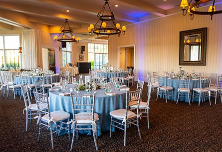 Charming reception room - Eagle Ridge - Gilroy, California - Santa Clara County - Wedgewood Weddings