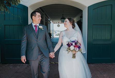 Manicured Hedges - Eagle Ridge - Gilroy, California - Santa Clara County - Wedgewood Weddings