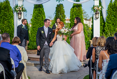 Just married couple - Eagle Ridge - Gilroy, California - Santa Clara County - Wedgewood Weddings
