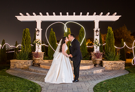 Nighttime couple - Eagle Ridge - Gilroy, California - Santa Clara County - Wedgewood Weddings