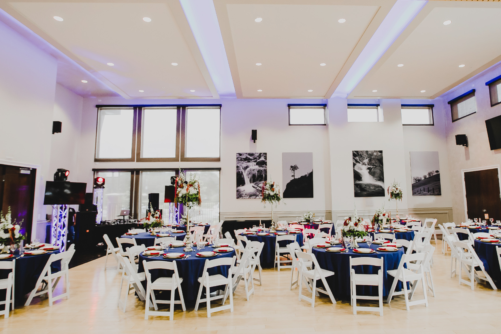 Reception hall - Evergreen Springs - Elk Grove, California - Sacramento County - Wedgewood Weddings