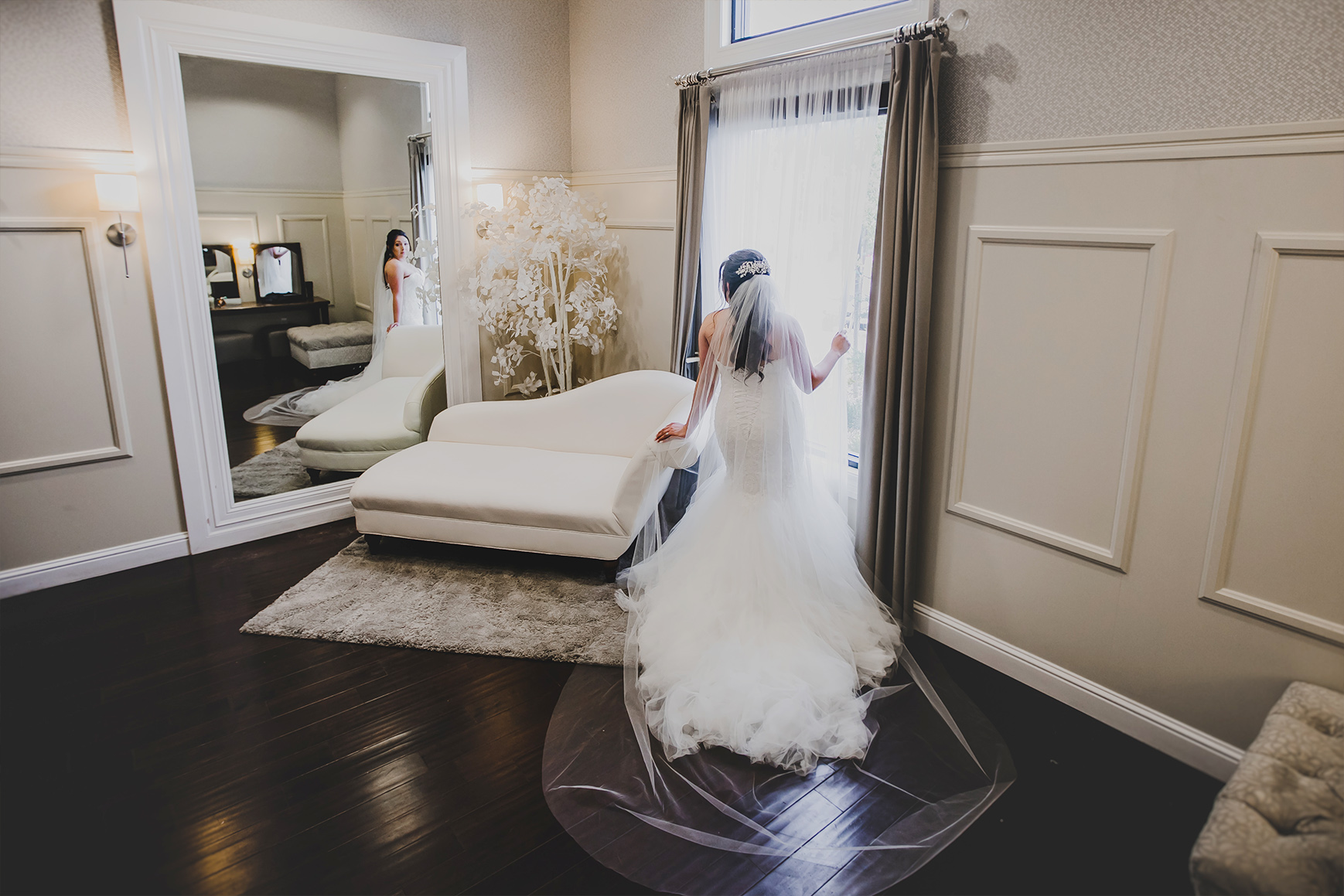 Luxurious bridal suite - Evergreen Springs - Elk Grove, California - Sacramento County - Wedgewood Weddings
