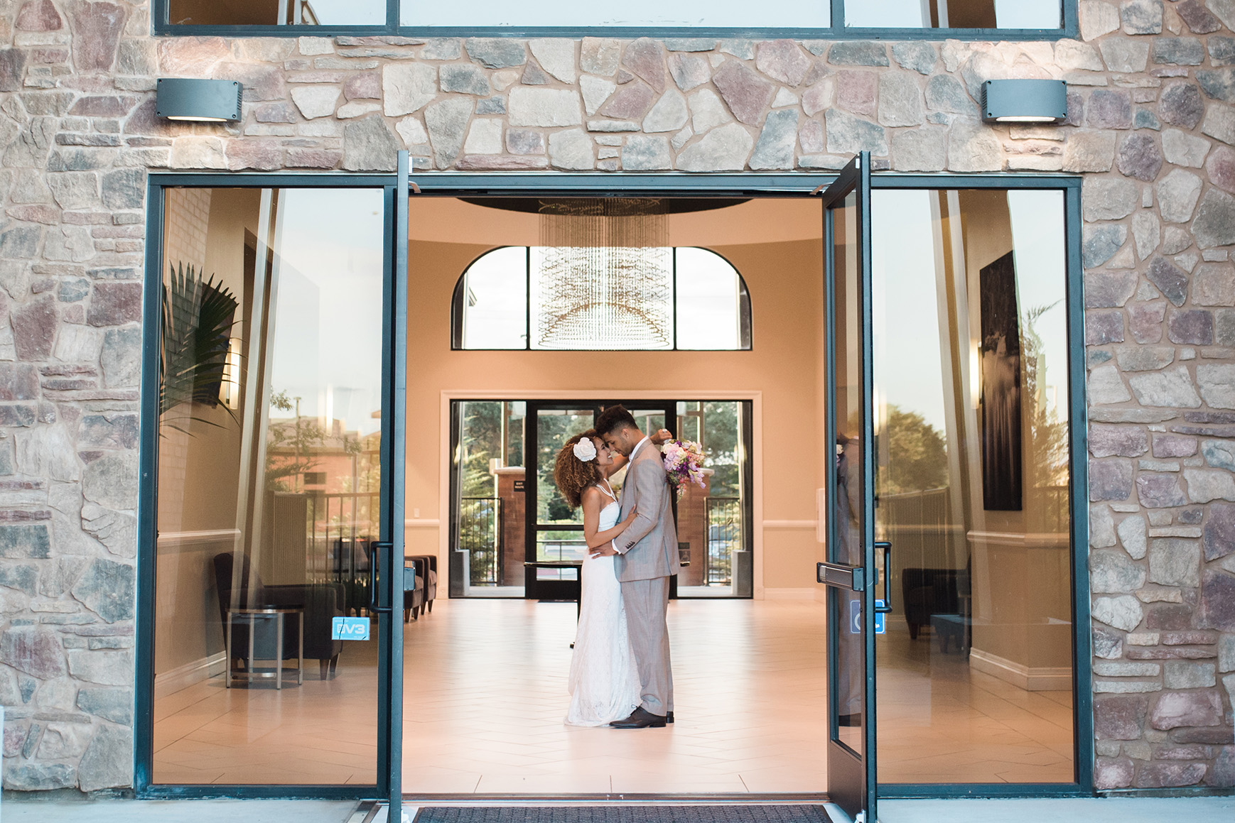 Front entrance - Evergreen Springs - Elk Grove, California - Sacramento County - Wedgewood Weddings