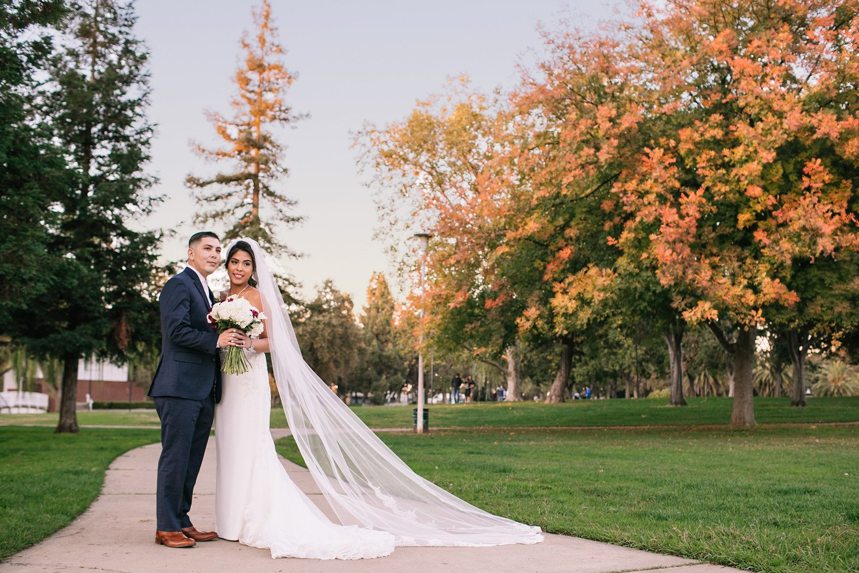 Happy Couple at Evergreen Springs by Wedgewood Weddings