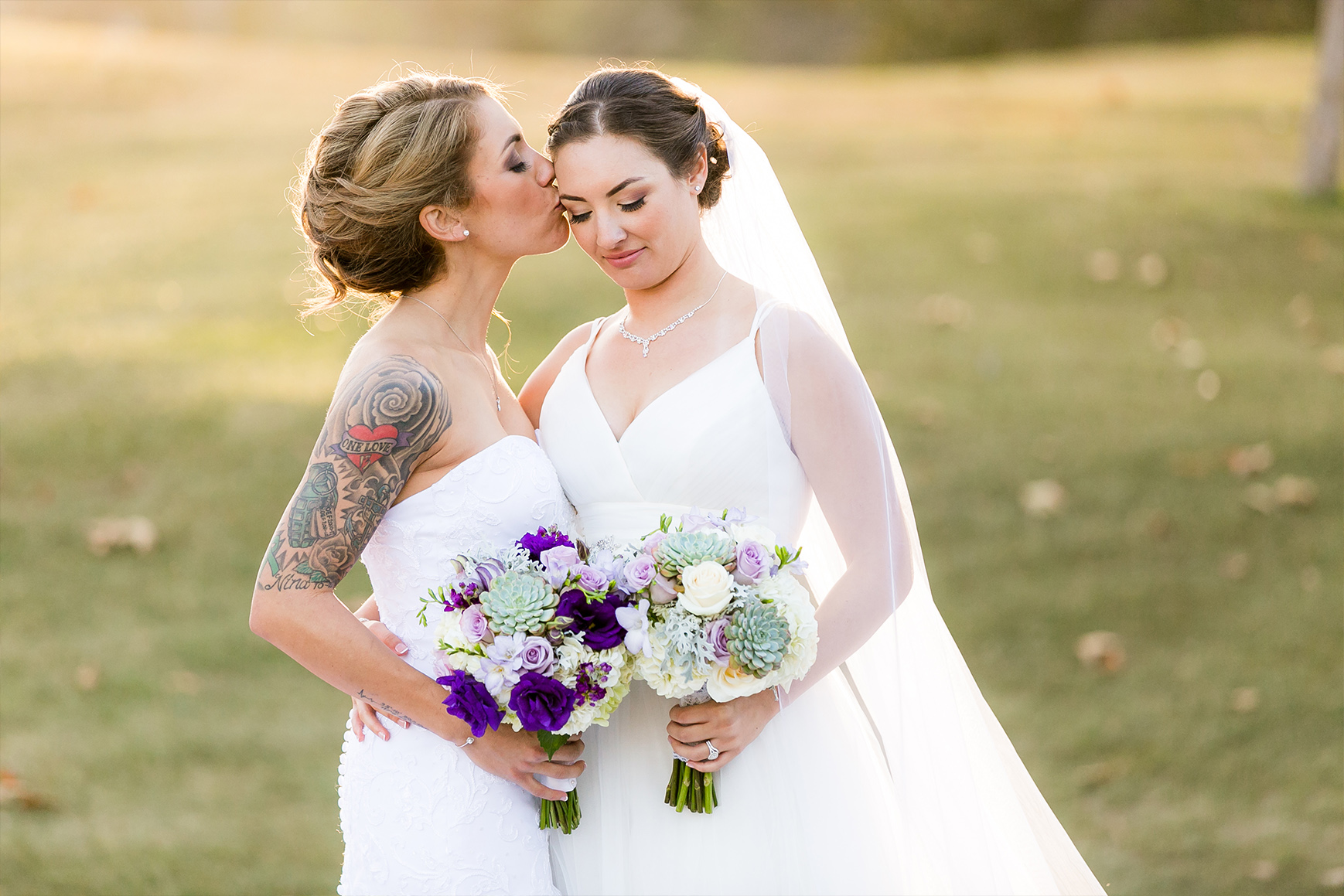 Bride and Bride - Fallbrook - Fallbrook, California - San Diego County - Wedgewood Weddings