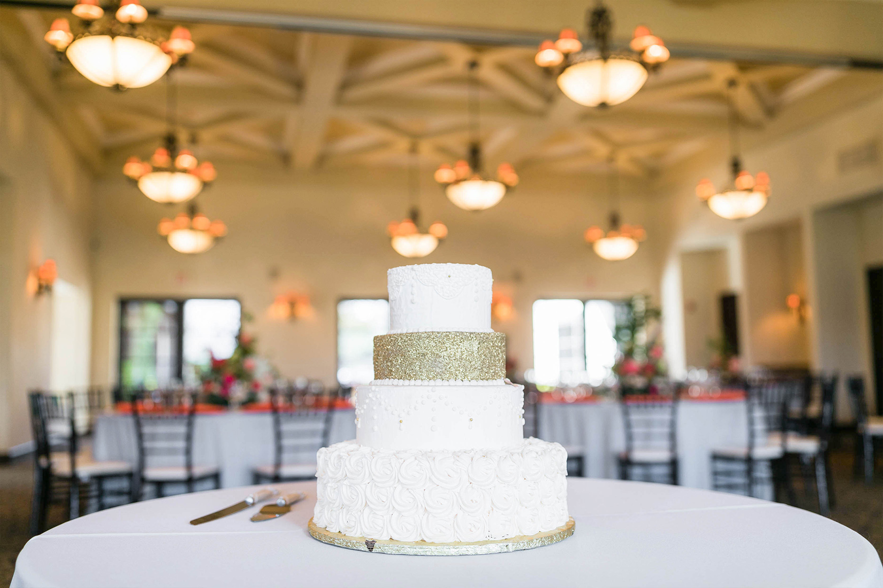 Glitter Cake - Fallbrook - Fallbrook, California - San Diego County - Wedgewood Weddings