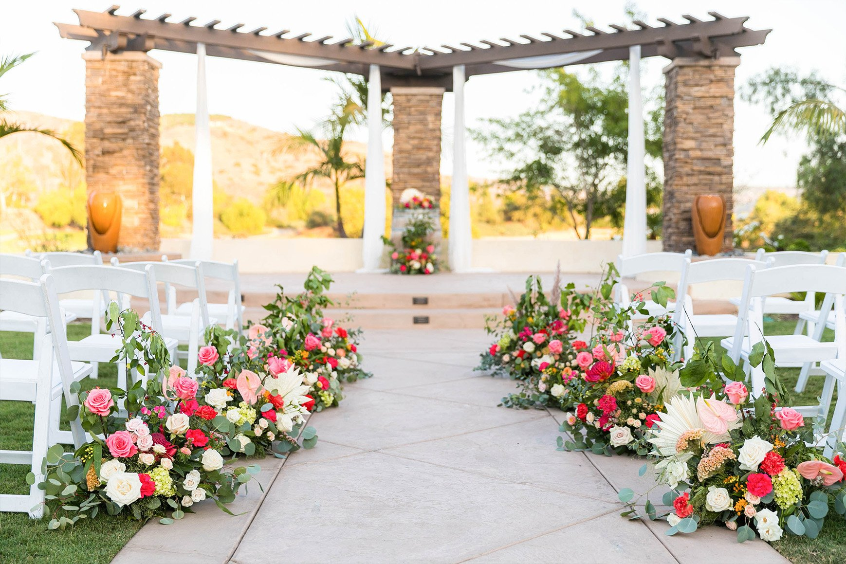 New Ceremony Site - Fallbrook - Fallbrook, California - San Diego County - Wedgewood Weddings