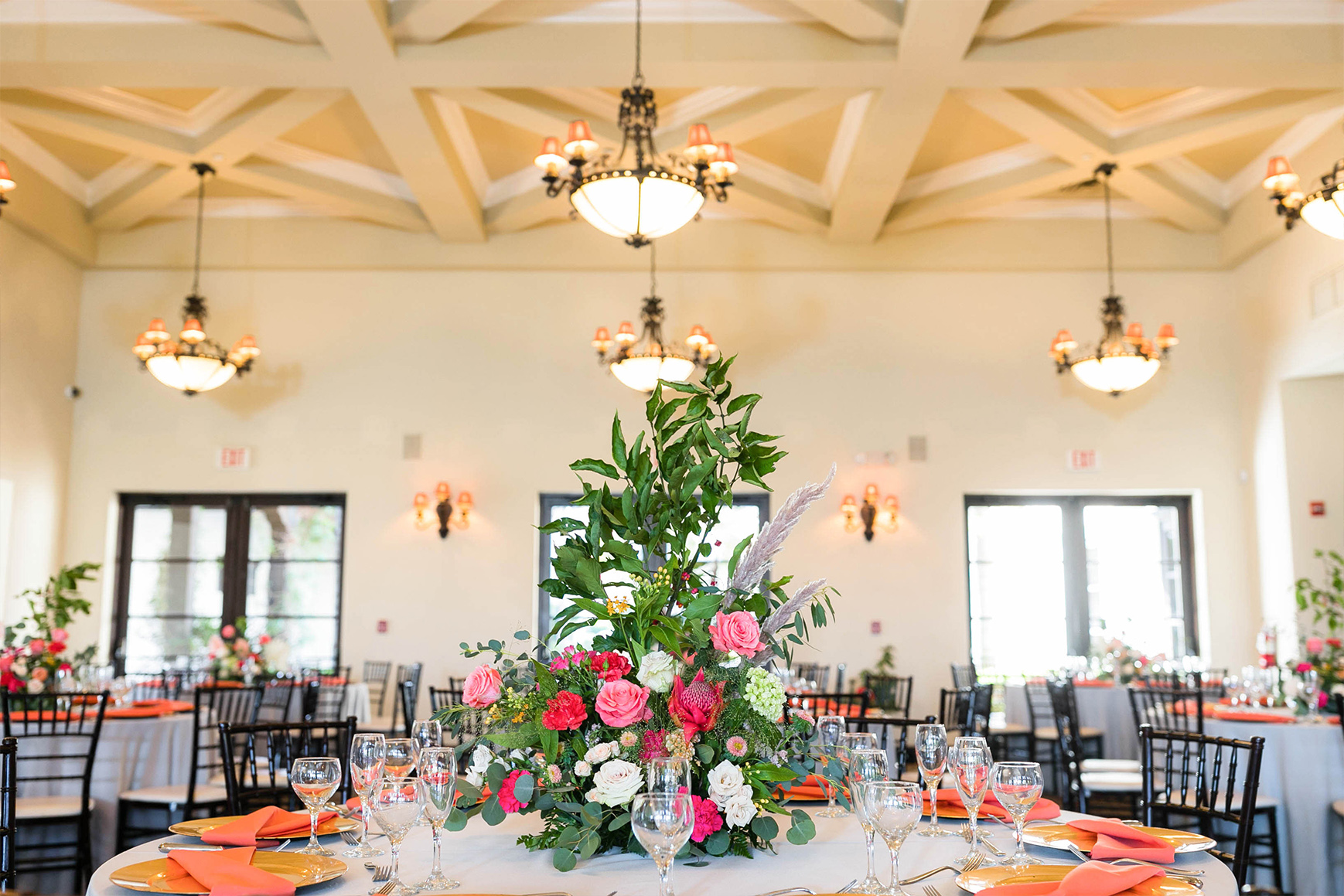 Indoor Ballroom - Fallbrook - Fallbrook, California - San Diego County - Wedgewood Weddings
