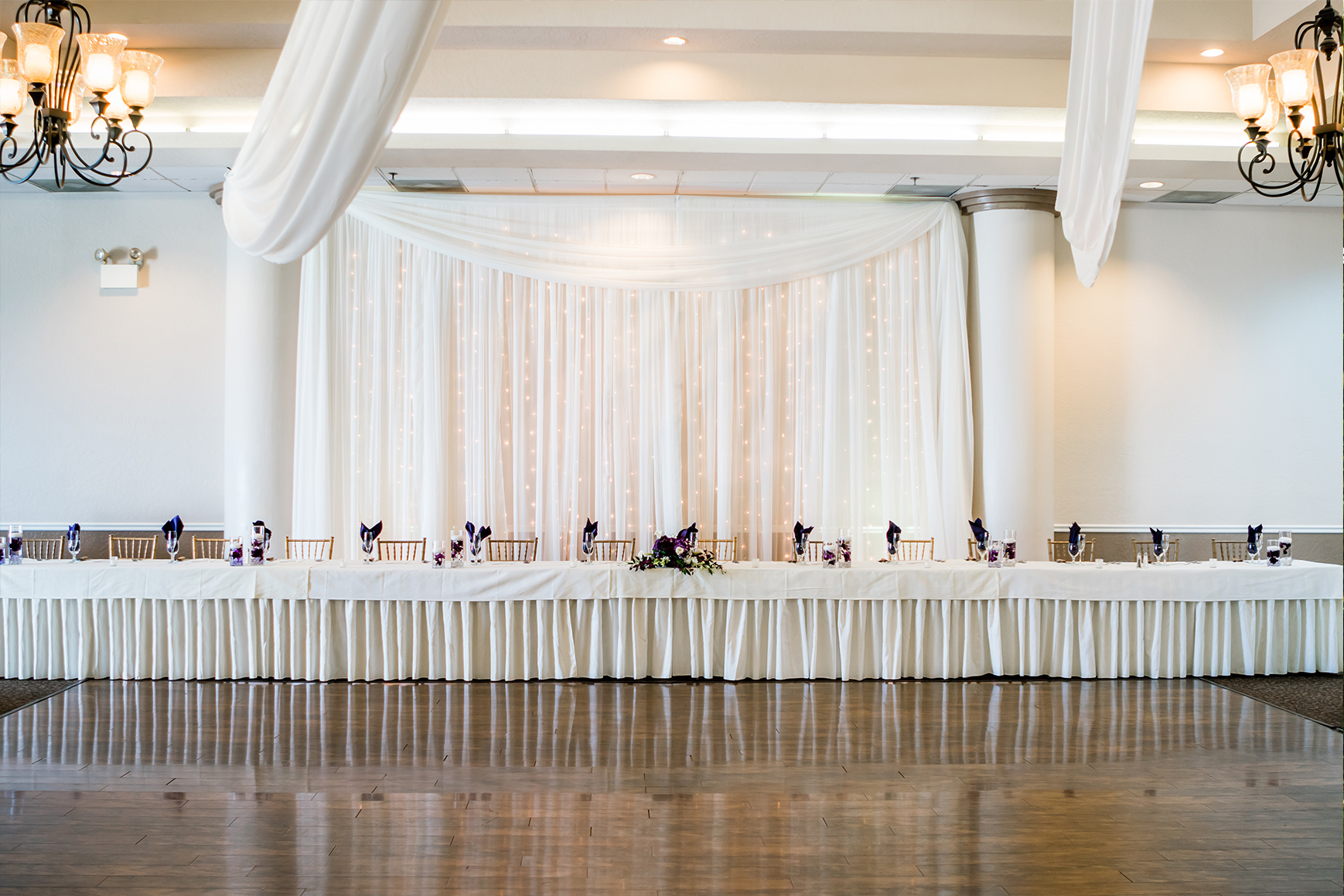 Banquet Hall - Fresno - Fresno, California - Frenso County - Wedgewood Weddngs