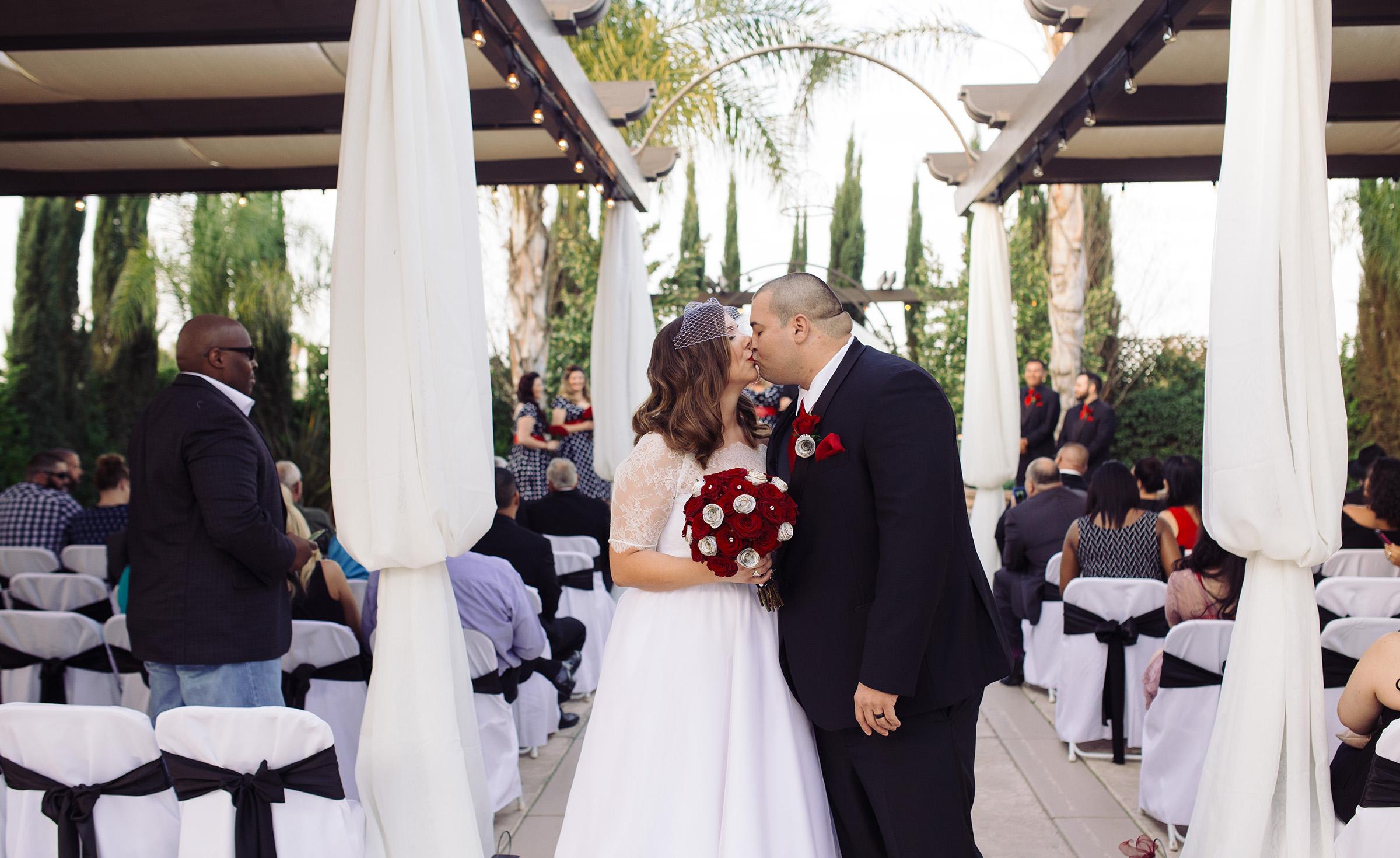 First walk husband and wife - Fresno - Fresno, California - Frenso County - Wedgewood Weddngs