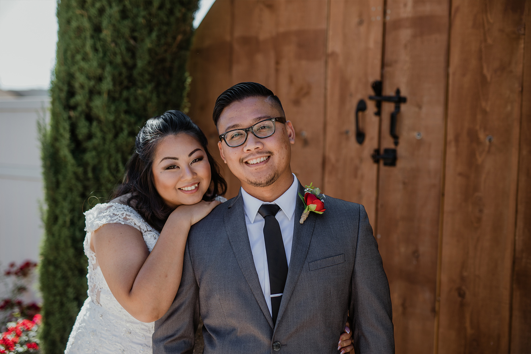 Newlyweds - Fresno - Fresno, California - Frenso County - Wedgewood Weddngs