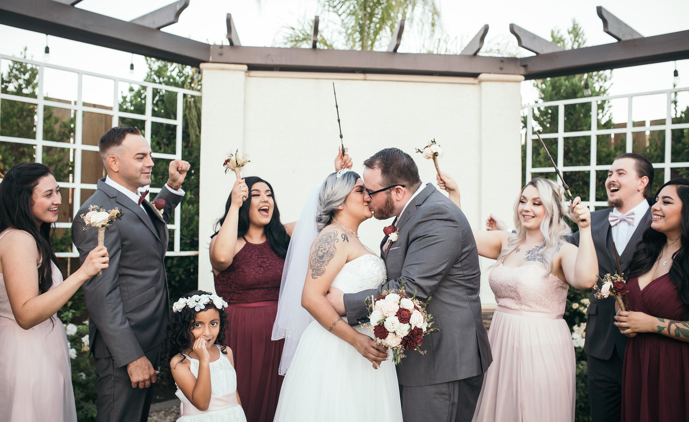 Magical theme wedding - Fresno - Fresno, California - Frenso County - Wedgewood Weddngs